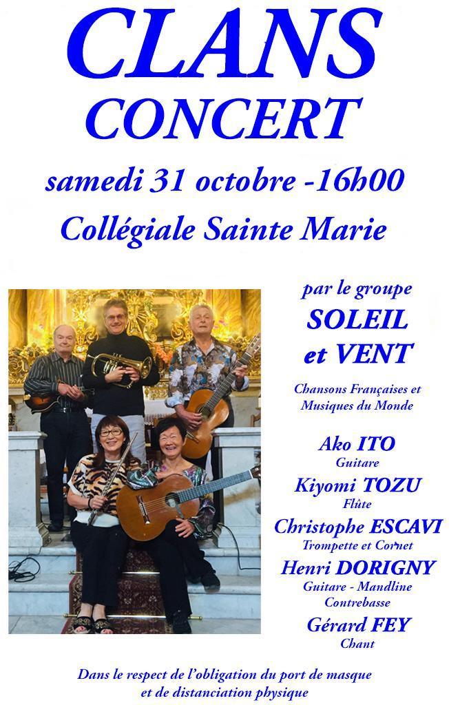 20 10 27 concert clans