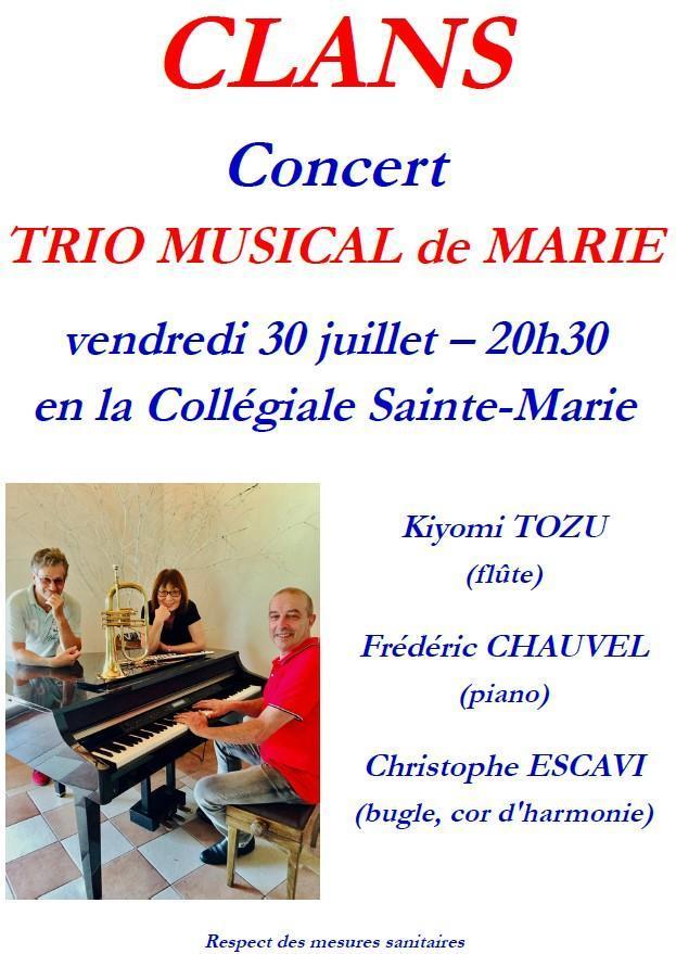 21 07 30 concert clans