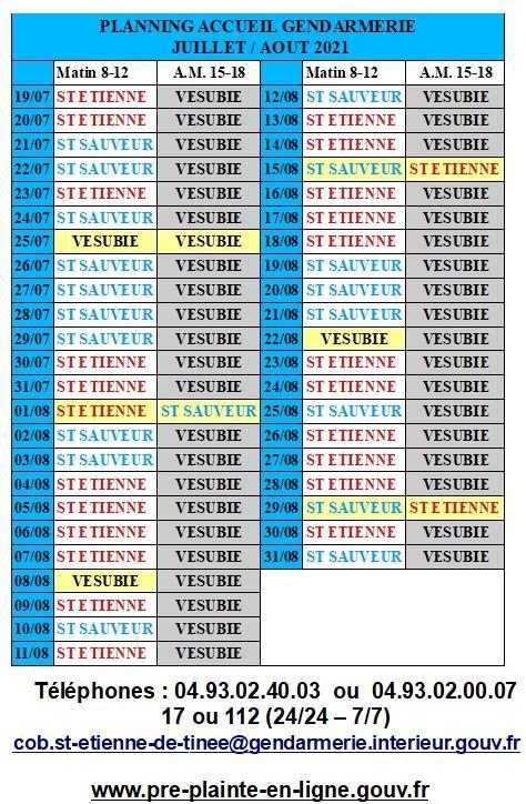 21 08 04 planning ouverture gendarmerie jui aout