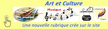 Bandeau art et culture