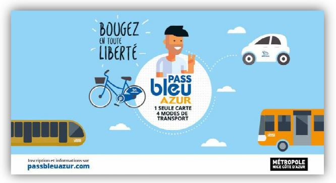 Carte pass bleu