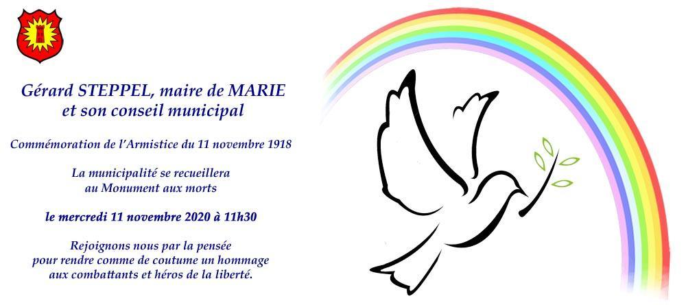 Ceremonie du 11 novembre 2020 web
