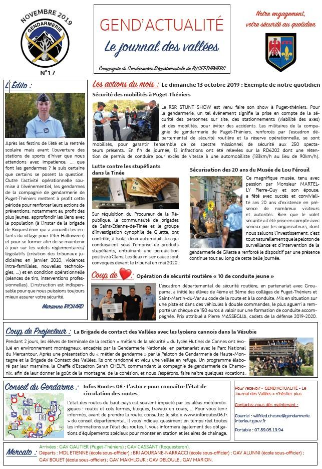 Gend actualite journal n 17