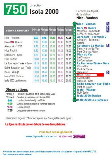 Ligne 750 3