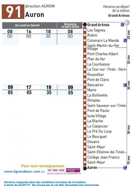 Lignes d azur 91 auron 2