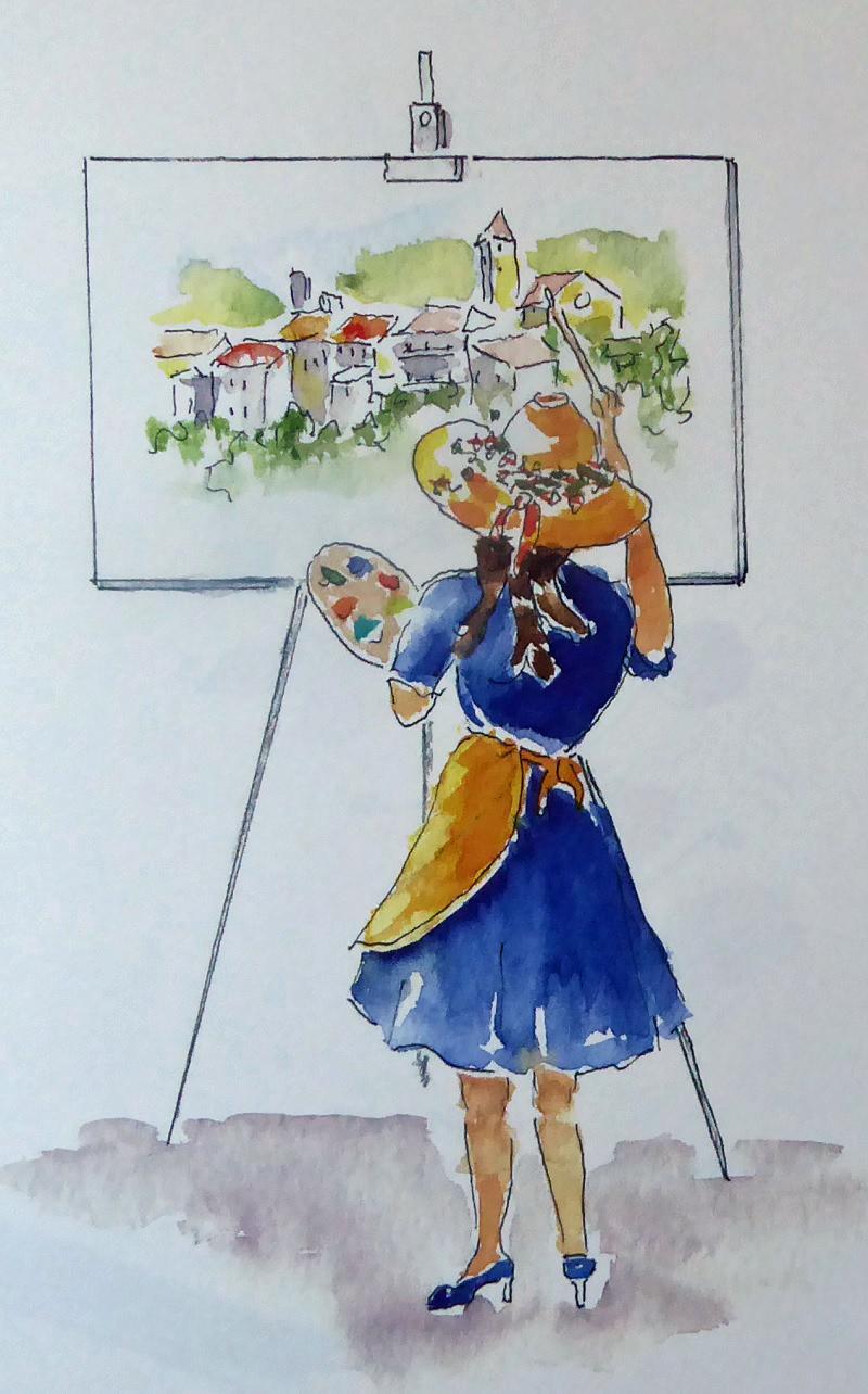 O peintre