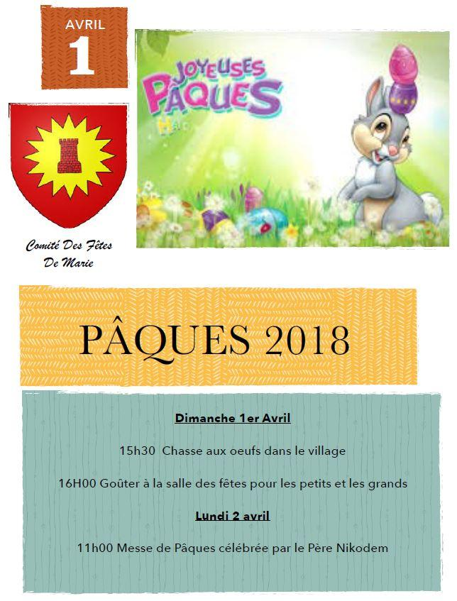 Paques 2018
