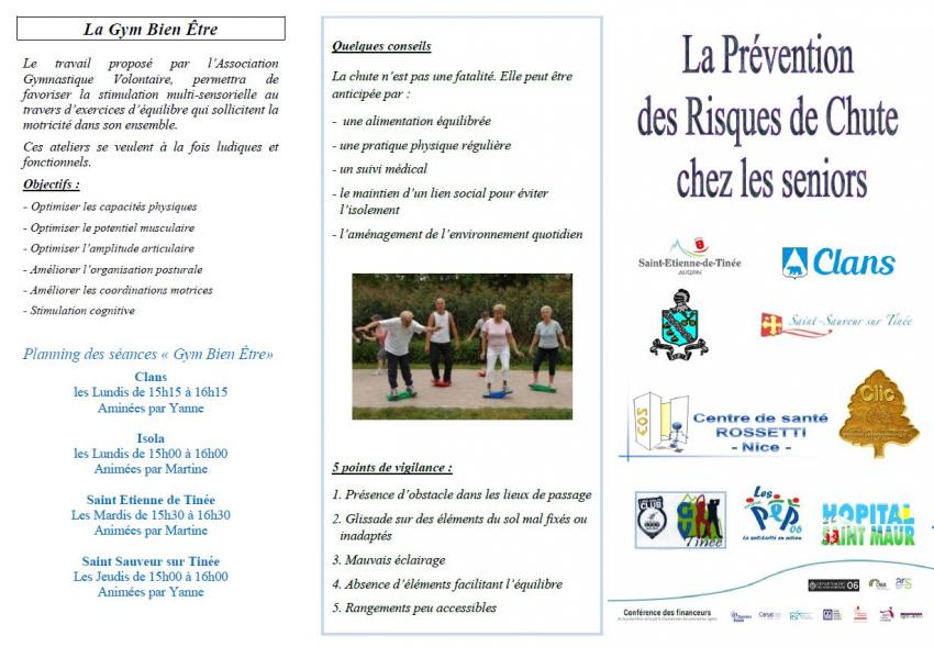 Prevention des chutes depliant 1pg