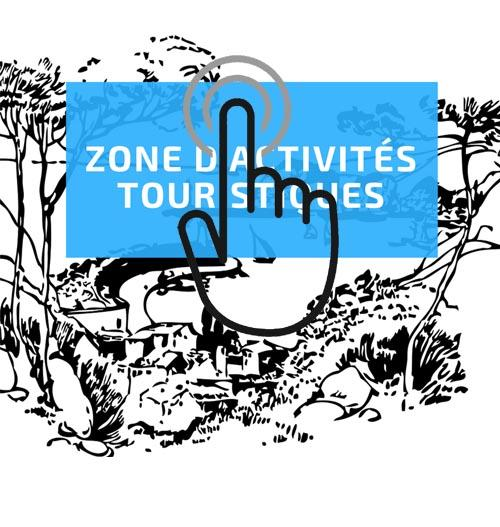 Zone activite touristique lien main